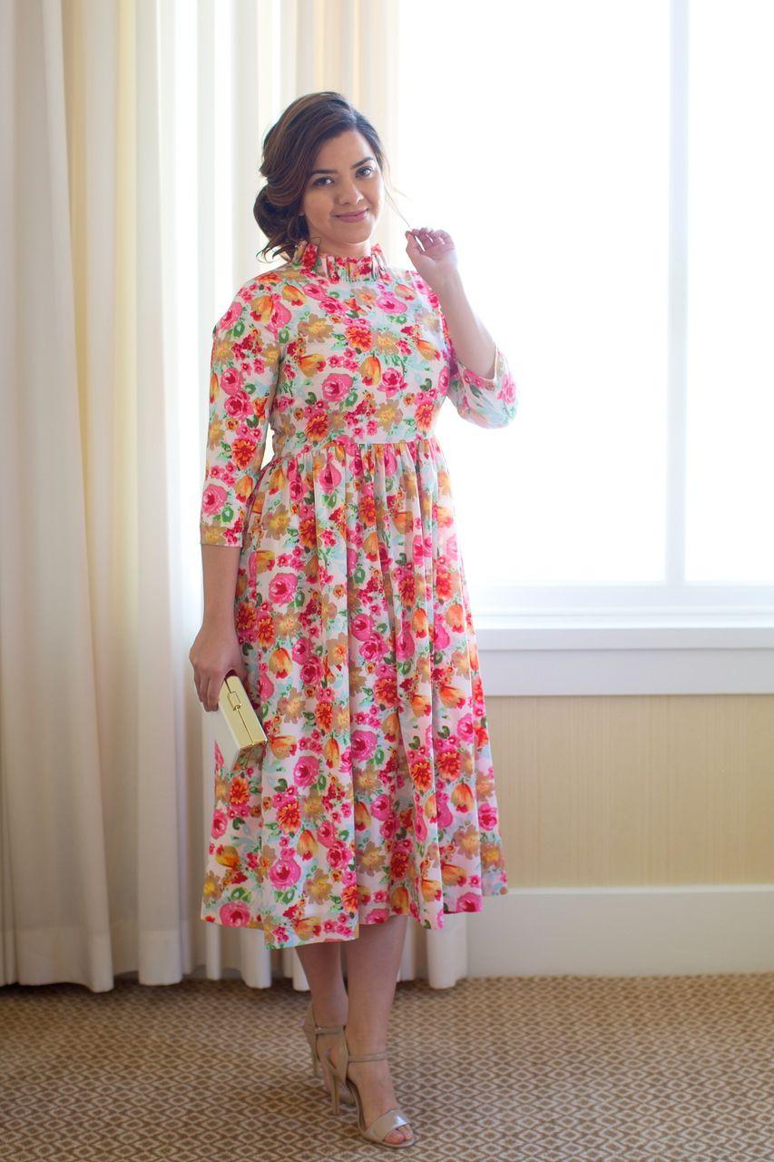 The Delightful Dress in Strawberry | Moda tallas grandes, Ropa ...