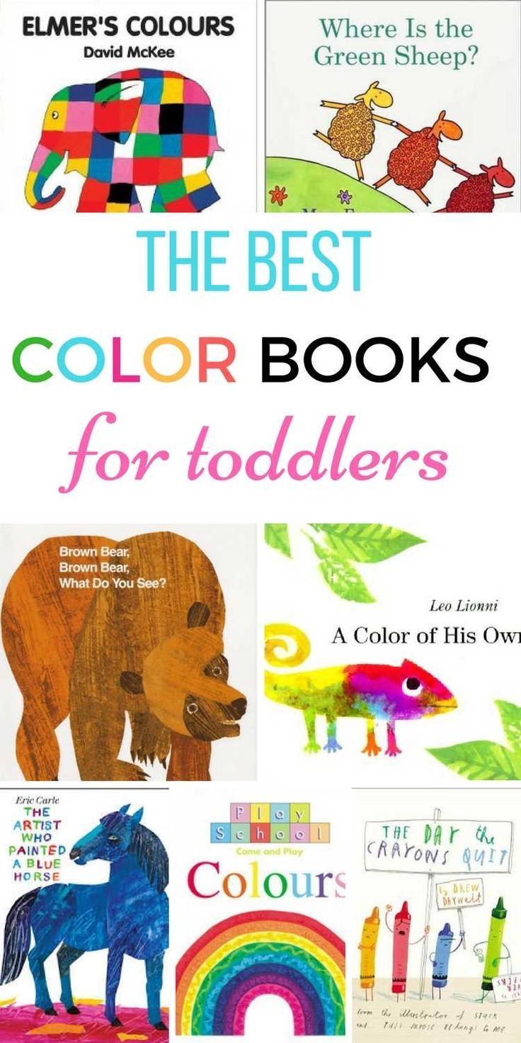 Color Books For Toddlers Toddler Books Coloring Books