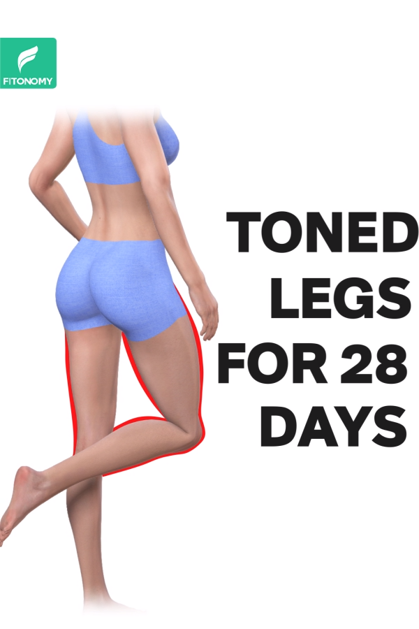 Photo of TONED LEGS FOR 28 DAYS