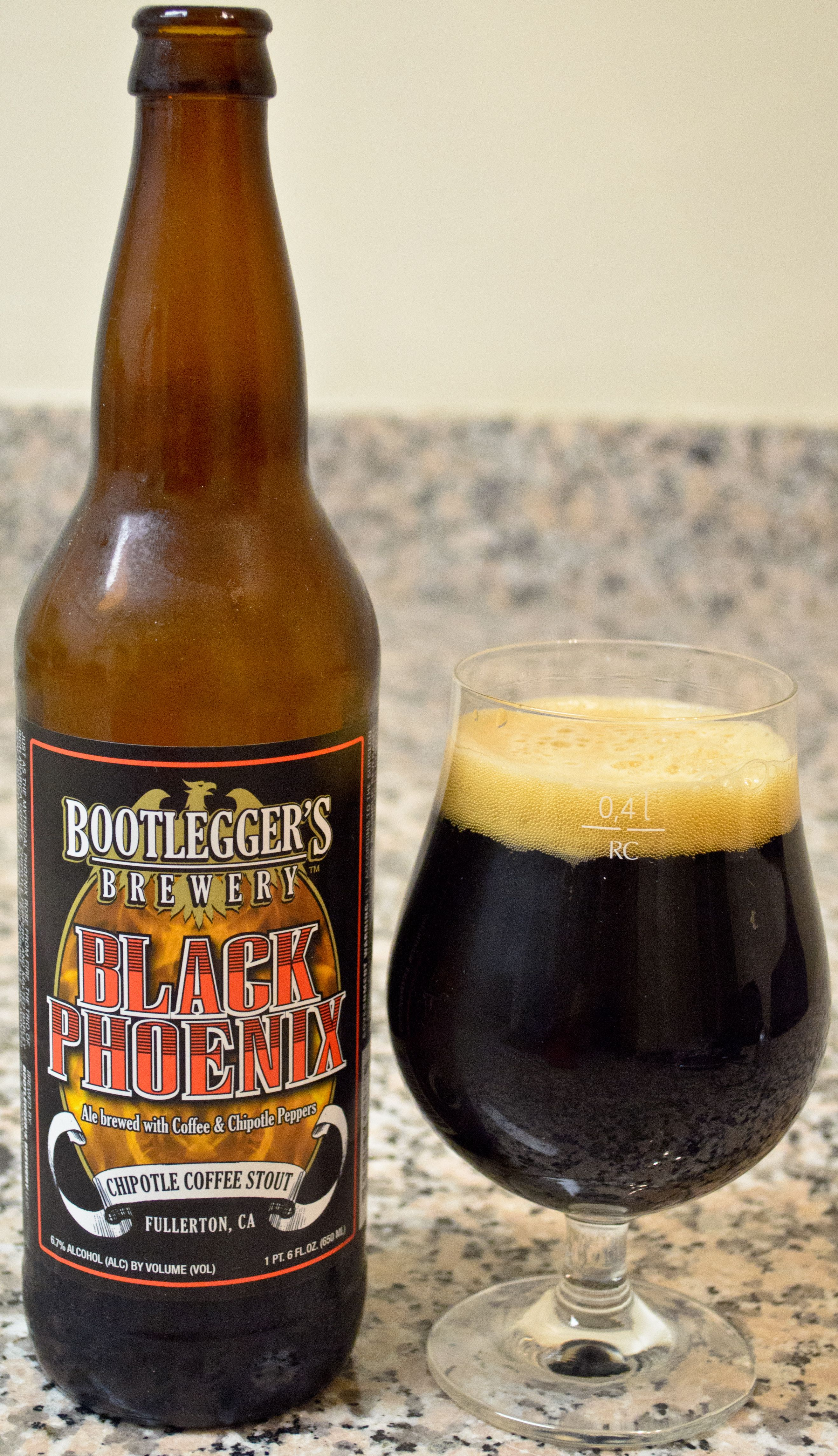 Bootlegger S Black Phoenix The Peppers Are Not Quite As Strong As I Expected Them To Be But They Provide A Nice Touch Of Depth Beer Best Beer Beautiful Beer