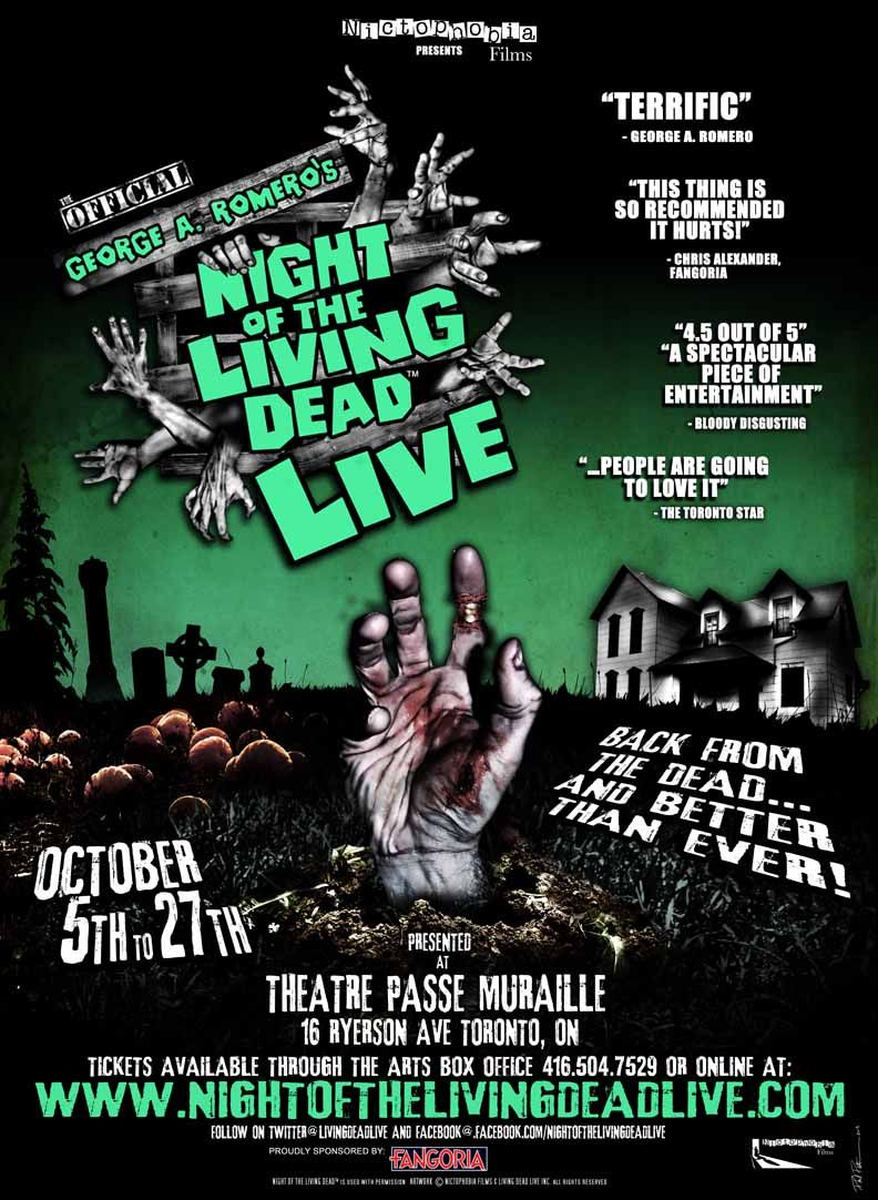 George A Romero S Night Of The Living Dead Live Toronto Star