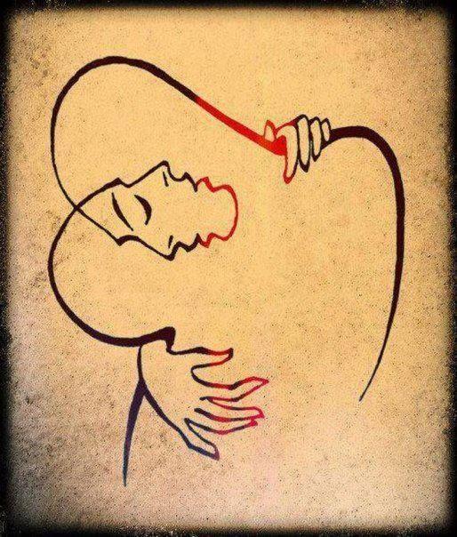 Josef Kunstmann L Abbraccio 1949 Pensieri Art Dessin Art