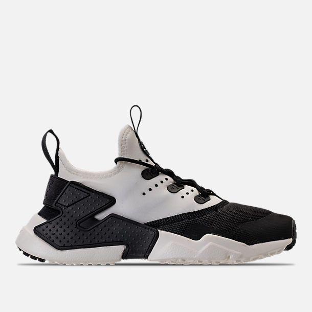 923385b52b6a Right view of Boys  Grade School Nike Huarache Drift Casual Shoes in  Black Sail White