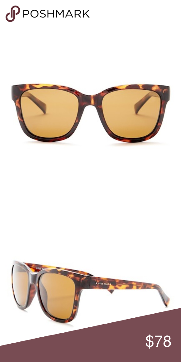 a6d1183c21 Cole Haan Polarized Oversized Sunglasses Cole Haan Polarized 54mm Oversized  Sunglasses - Style  Oversized -
