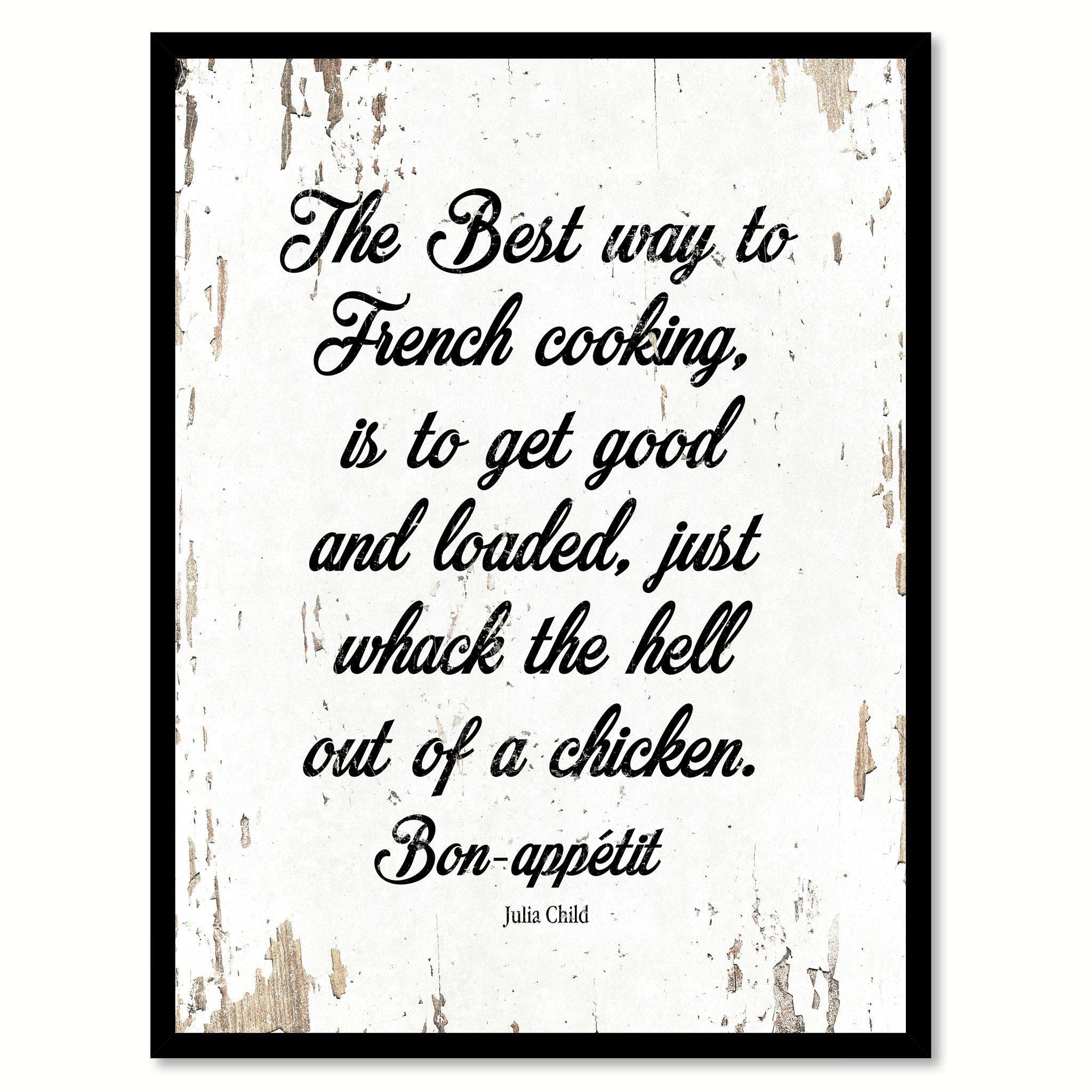 The Best Way To French Cooking Is To Get Good Julia Child
