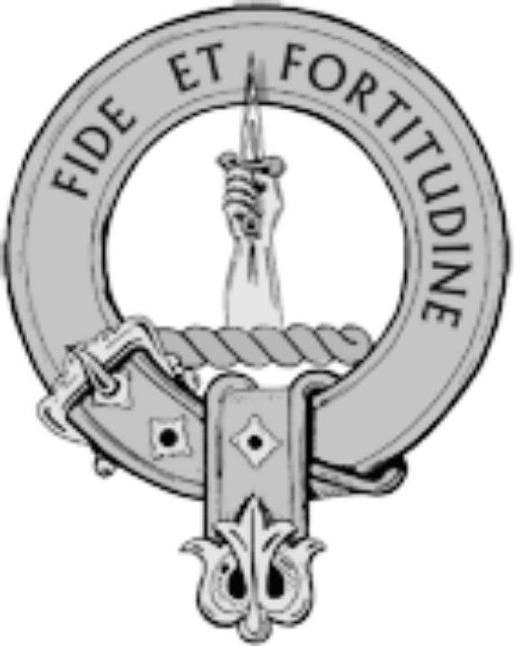 Shaw Scottish Clan Crest Cufflinks