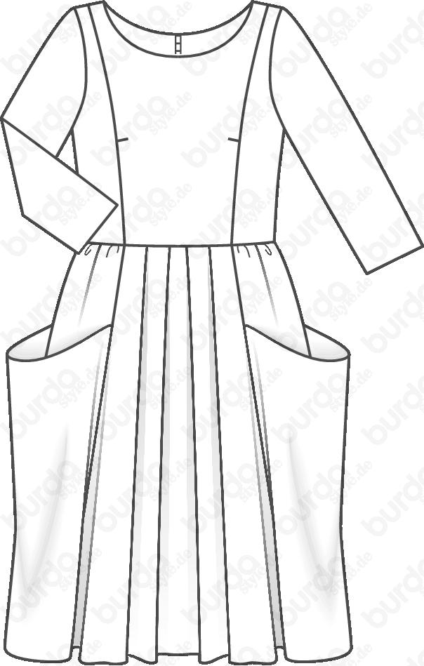 Schnittmuster jerseykleid download