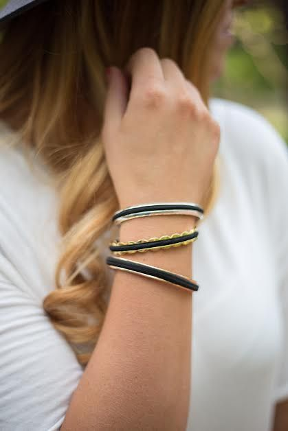 hair tie bracelet bangle