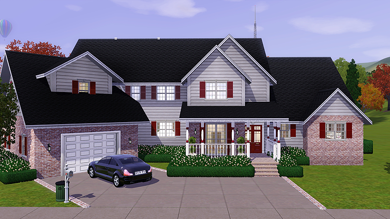sims 3 properties: sweet home americana (v.01) | sims!!! | pinterest
