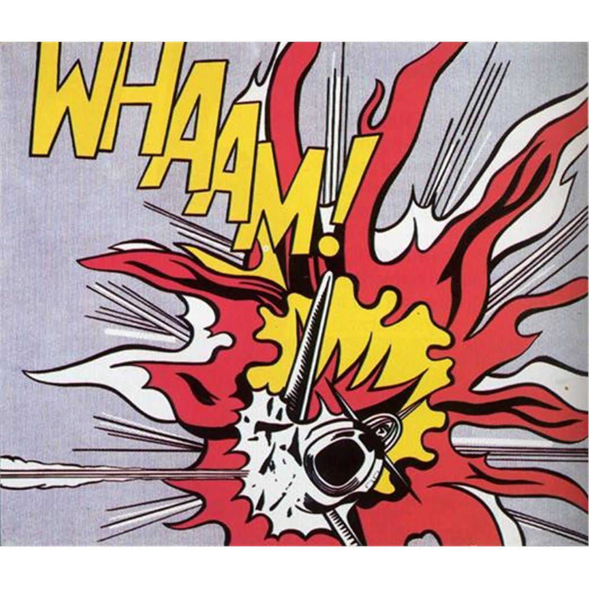 Roy Lichtenstein Roy lichtenstein pop art, Producción