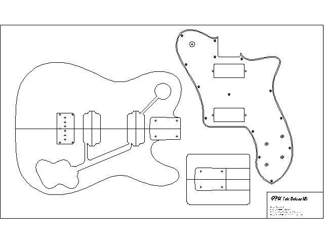 Body Templates | Woodworking - Guitar Stuff | Pinterest | Body ...