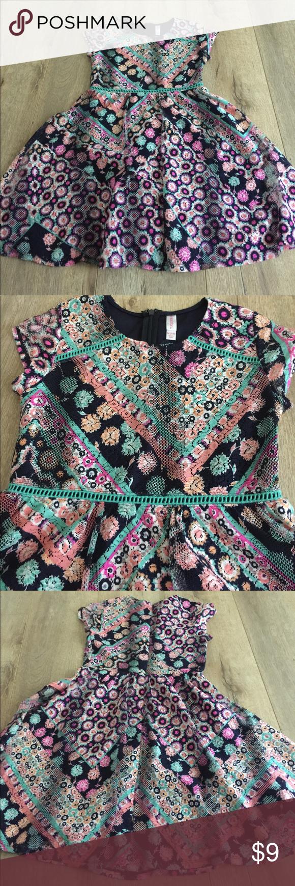 Dress beautiful lace dress for girls colorful and beautiful size