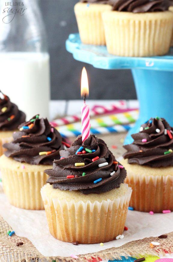Yellow Cupcakes With Chocolate Frosting Recipe Fun Cupcake