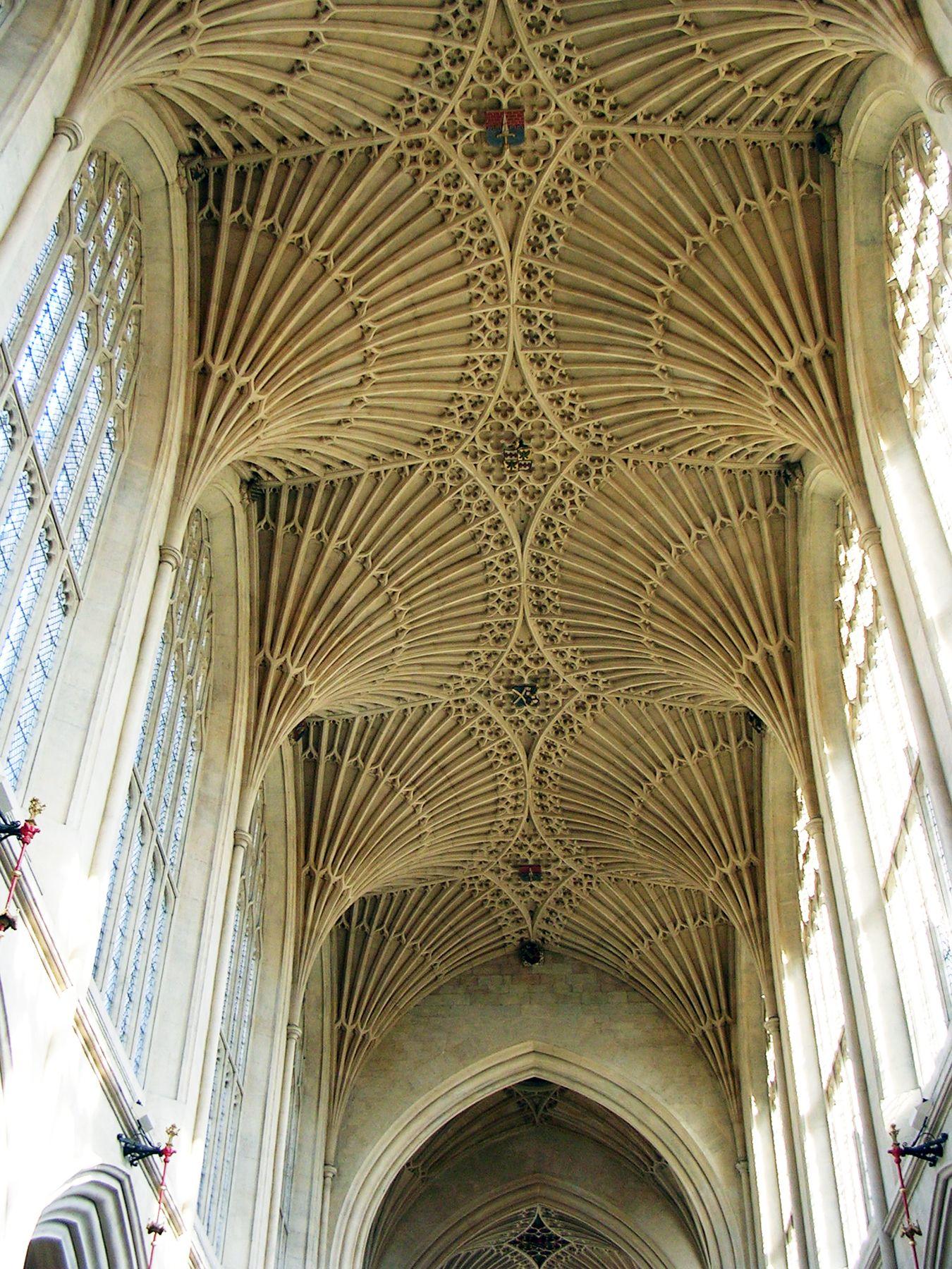 Gothic Columns Wood