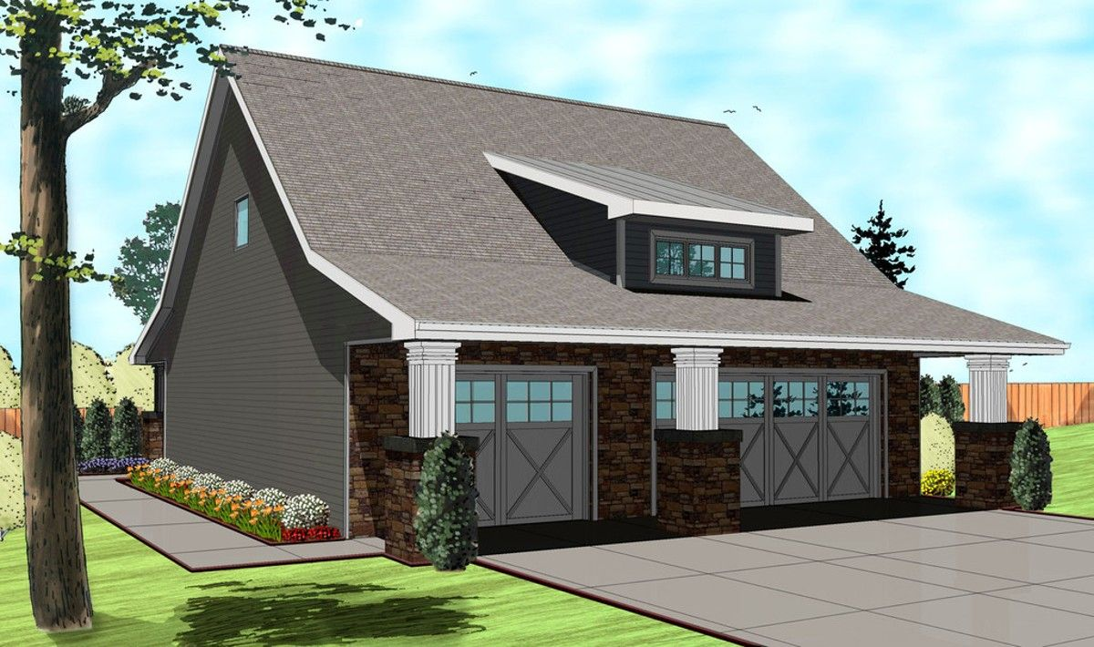 Plan 62510dj So Much More Than A Garage Carriage House Plans Bungalow Style House Plans Monster House Plans