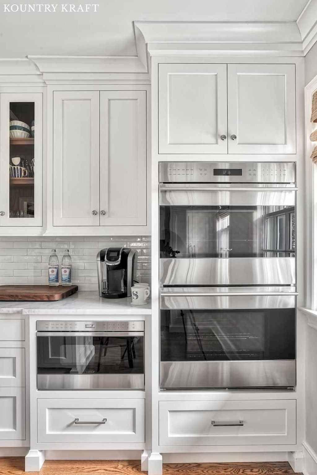70 Beautiful White Kitchen Cabinet Makeover Ideas Armario De