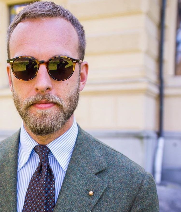 d4ad71cfc9b THE BESPOKE DUDES EYEWEAR — Great  style for  andreasweinas in  Sweden  wearing.