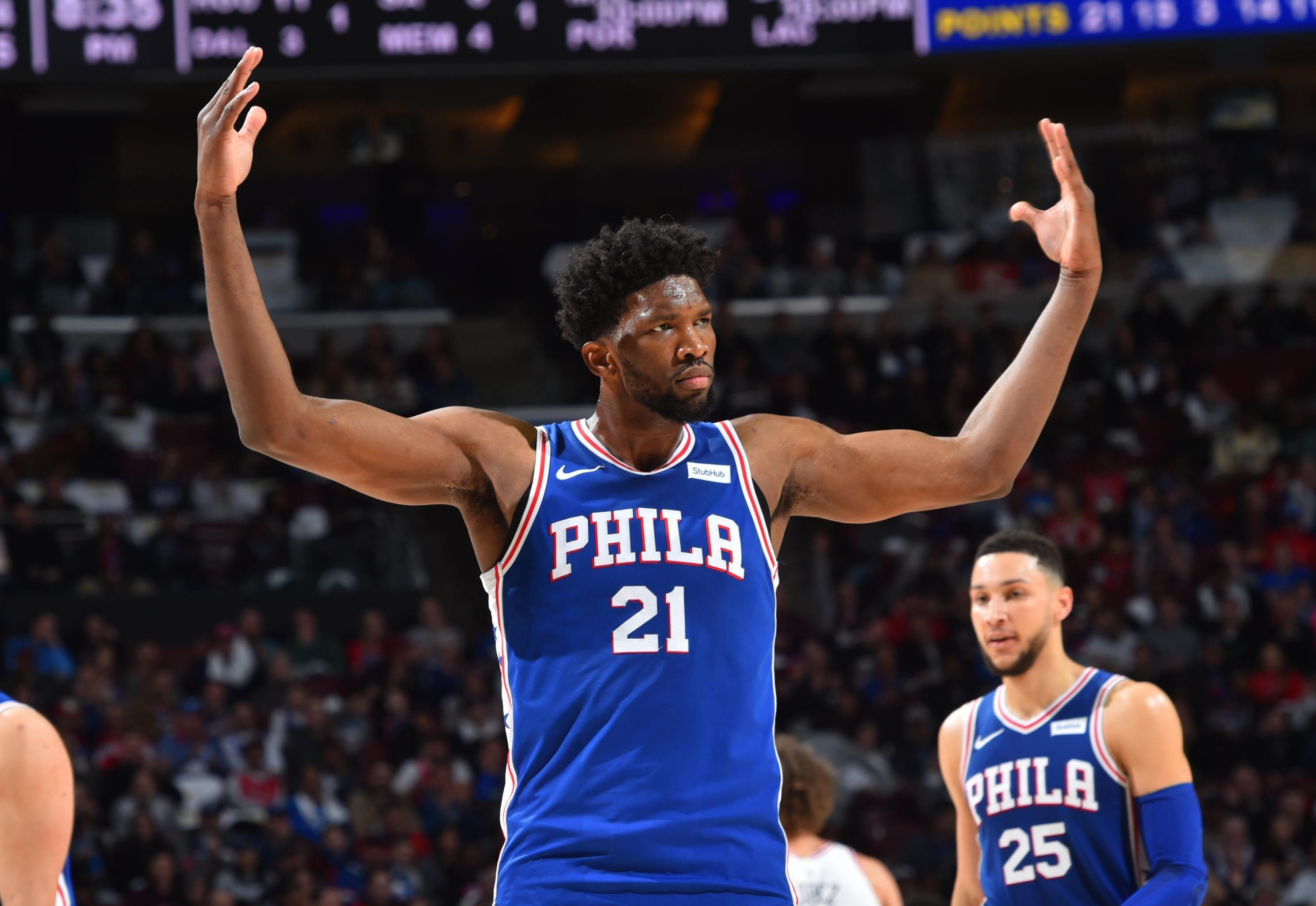 Nba Power Rankings Joel Embiid Has Philadelphia 76ers