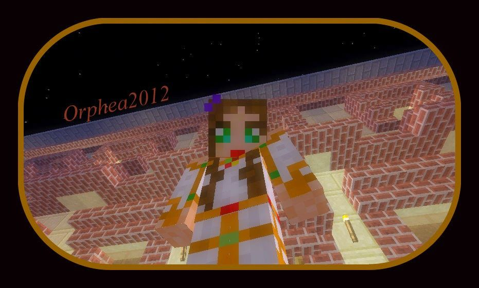 Orphea2012 Youtube et Minecraft: Aujourd'hui diffusion d'un nouvel épisode de décor...