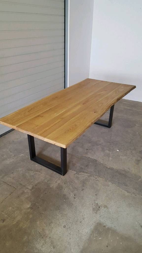 Naturholz Eiche Tischplatten Nach Maß Holzstärke 4 10cm Erhältlich Geleimt Als Auch