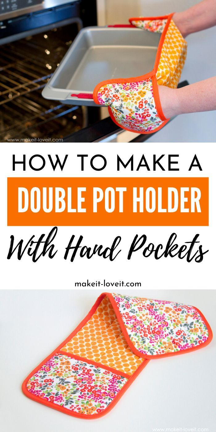Comment faire un support de pot double avec poches à main   – CrAfTy 2 ThE CoRe~DIY GaLoRe