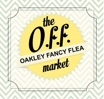 The O.F.F. Market (Oakley Fancy Flea) is an upscale flea market designed to showcase the most unique and high quality items. Last Saturday of the month, 10 am – 4 pm   #cincinnati, #cincy, #outdoor, #vintage, #weareoakley, #shop