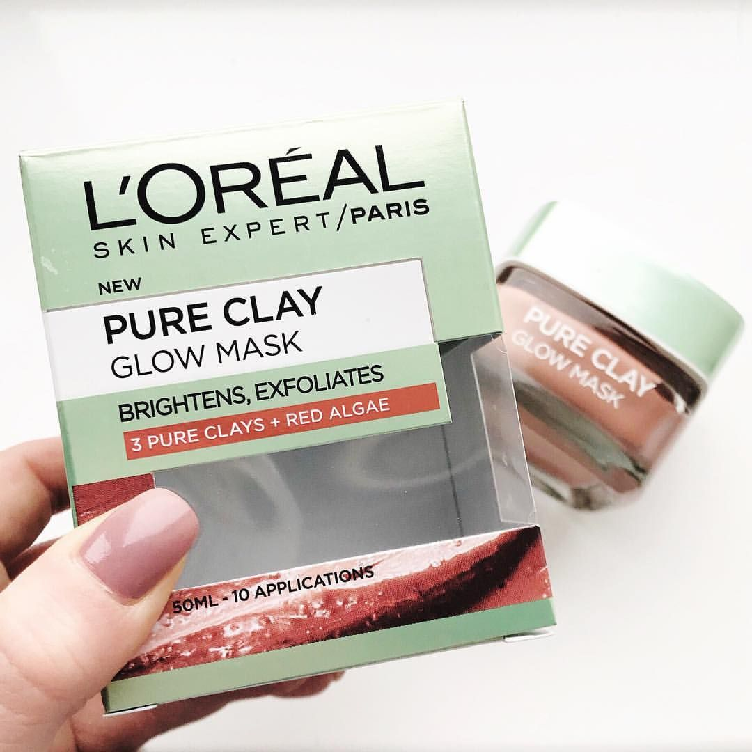 L'Oréal pure clay glow mask mini review