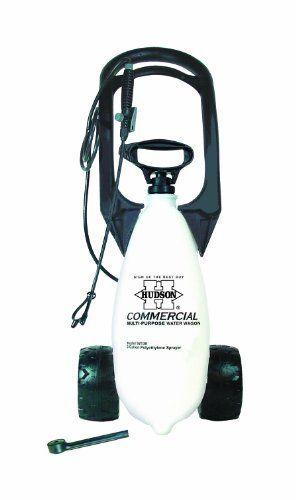 Hudson 92130 Wheeled Spray Wagon 3 Gallon Sprayer Poly By Hudson 49 99 Extra Long 72 Inch Hose Rainsoft Shower Spray Head Large Tov Sprayers Gallon Hudson