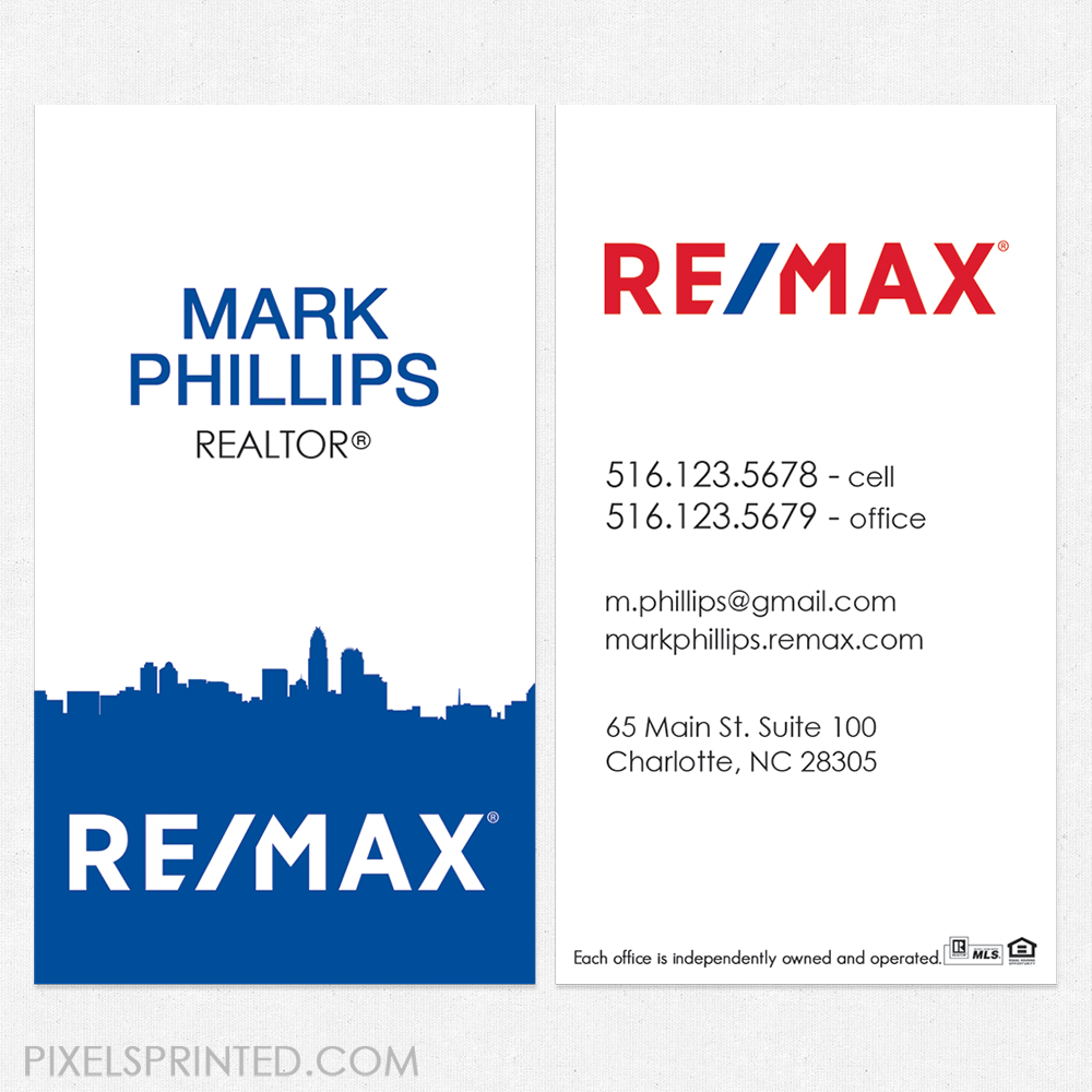 Merrill Corp Business Cards Remax | Best Business Cards