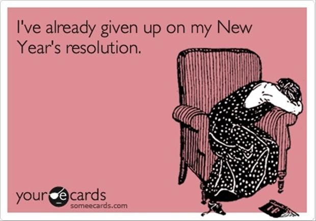 I\'ve already given up on my New years resolution | Humor | Pinterest ...