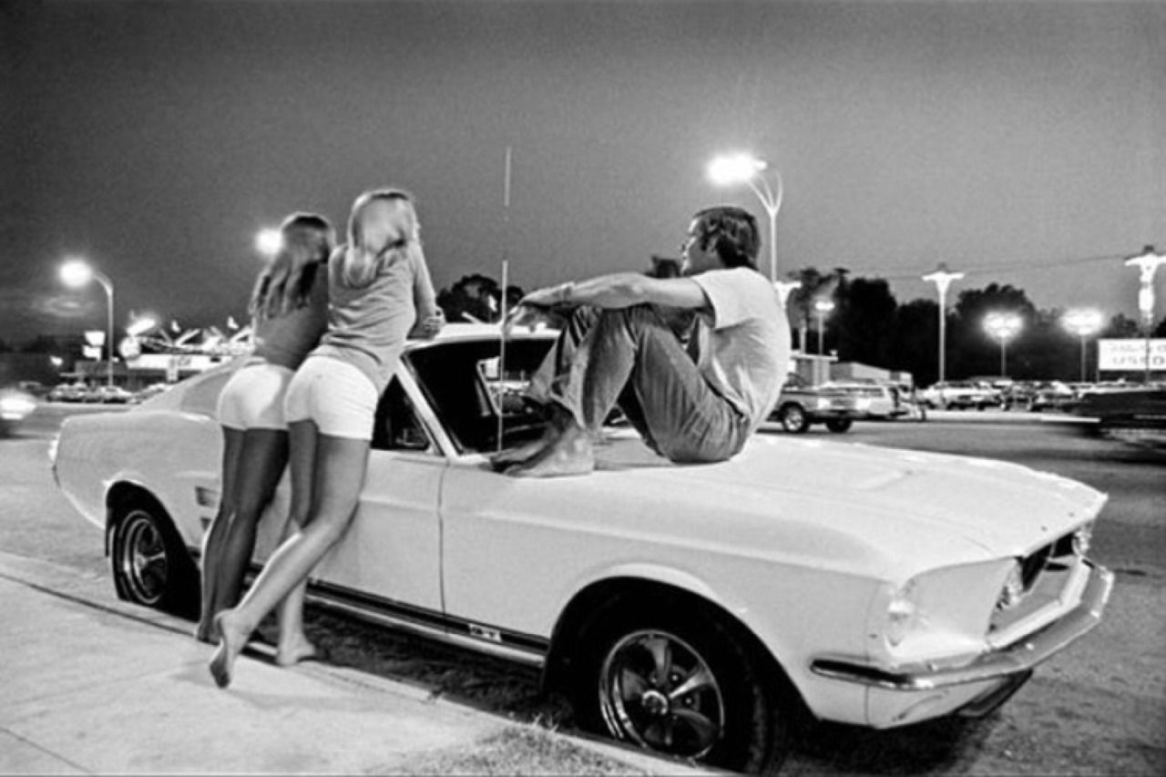 70s car culture van nuys blvd in 1972 picture taken by