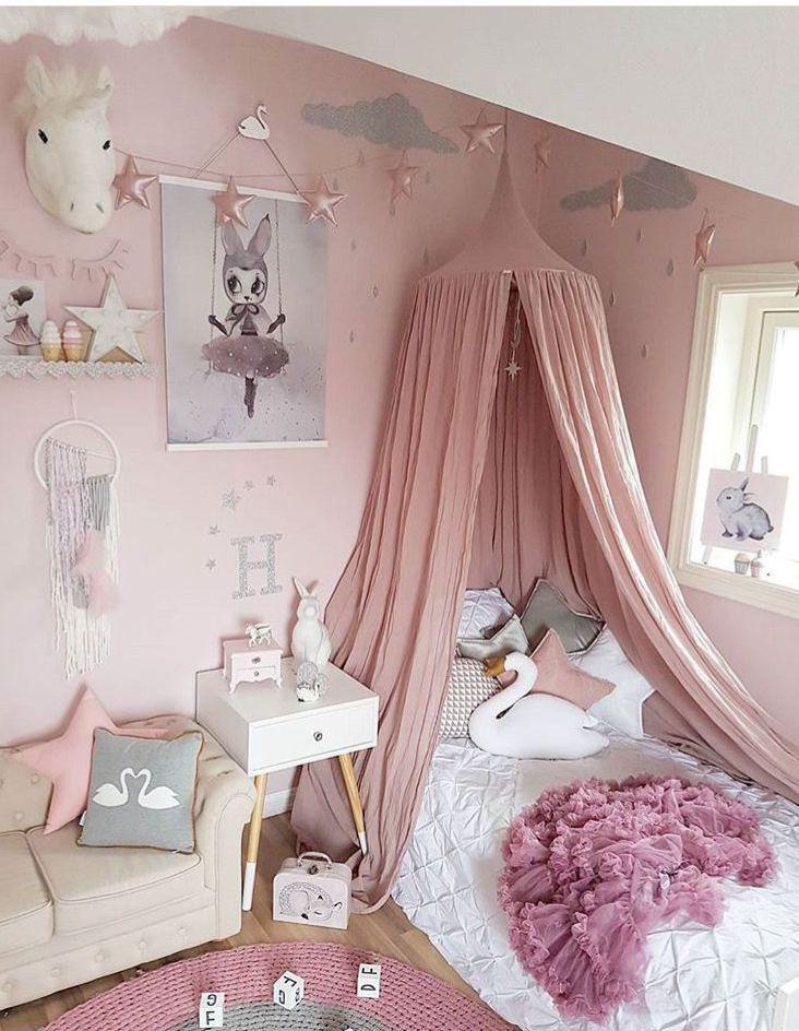 Kids Reading Girls Bedroom CanopyKids