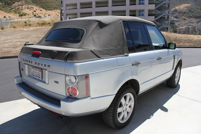 Range Rover HSE Convertible Land Rover Forums Land Rover - Range rover forum