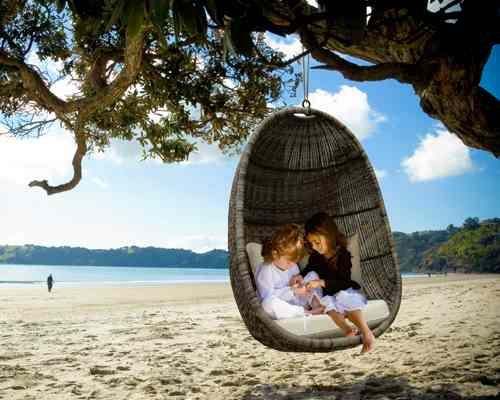 Www.coastaldesign.co.nz Beautiful Hanging Egg Chair, Photographed Here On  Onetangi Part 85