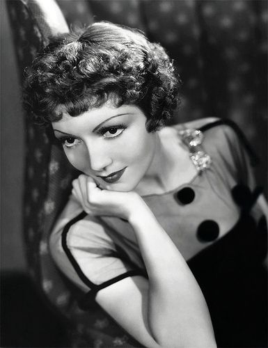 My idol! Claudette Colbert is in all my favourite movies, so classy. Oh, and love those eyebrows :)