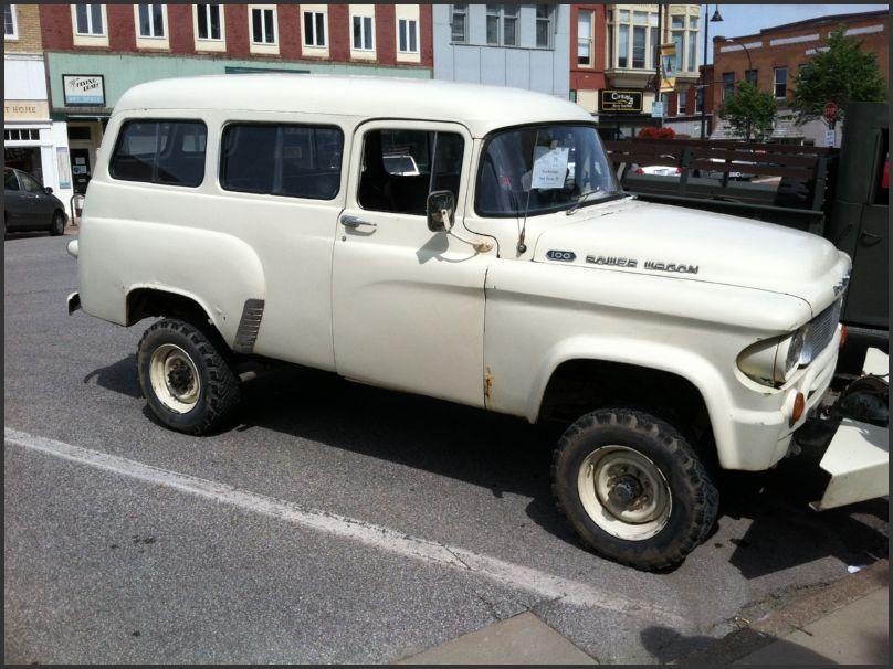1962 Dodge Power Wagon Townie Power Wagon Dodge Power Wagon