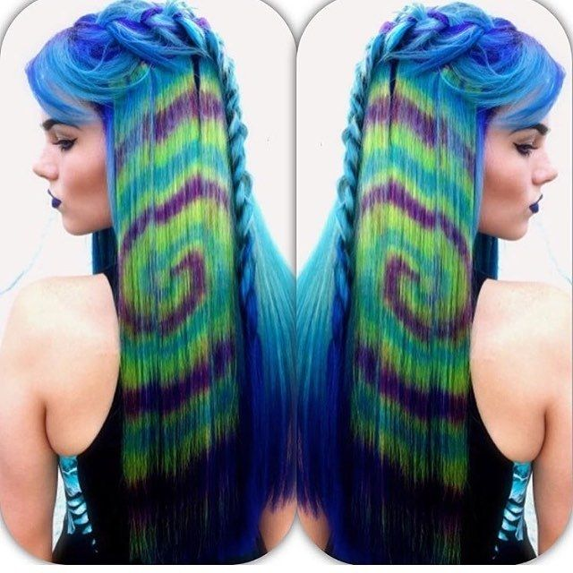 Hair color trends tye dye hair color trend teen vogue hair care styles pinterest dye - Tie and dye colore ...