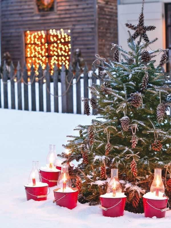 Tuin Inspiratie De Mooiste Winter Kerst Tuin Inspiratie Stijlvol Styling Woonblog Voel Je Thuis Buiten Kerstversiering Buiten Kerst Kerst Ideeen