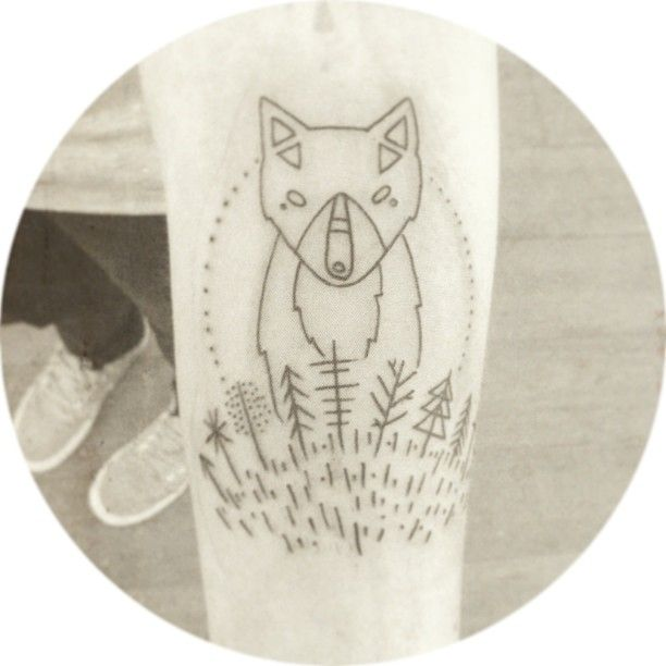 """THIS IS THE MOST BEAUTIFUL TATTOO I""""VE EVER SEEN! who has this? who designed this? i'm serious? anyone?"""