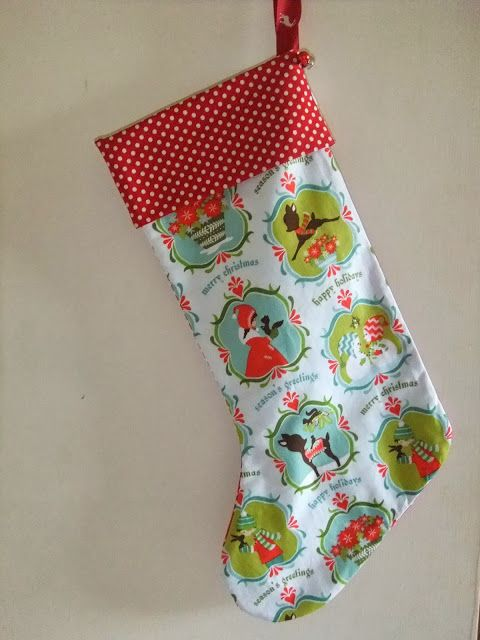 Sew Scrumptious: Christmas Stocking Tutorial and Pattern | Sewing ...