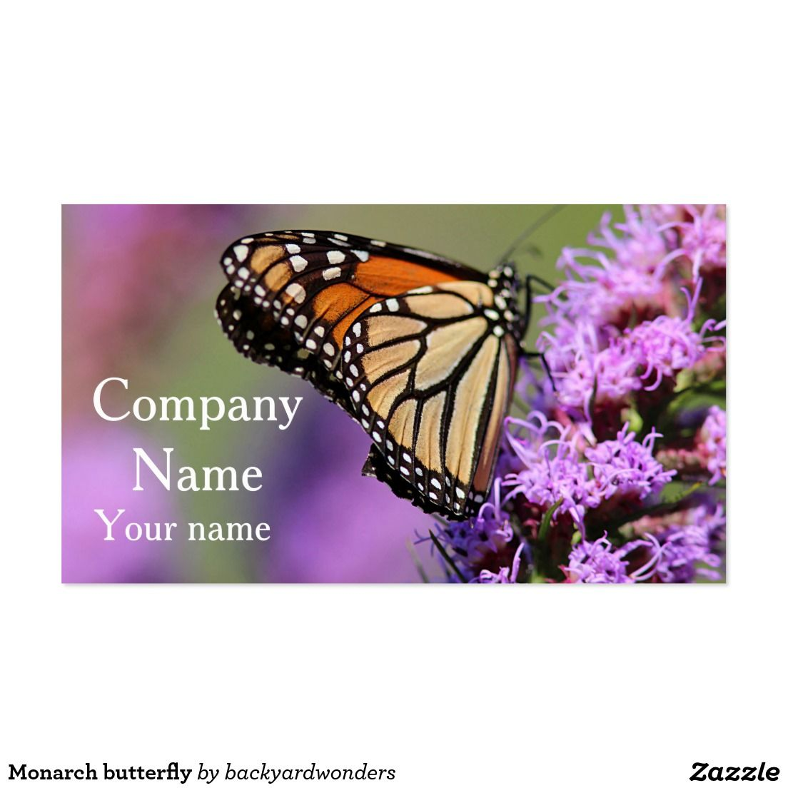 Monarch butterfly business card   Greeting Cards and business cards ...