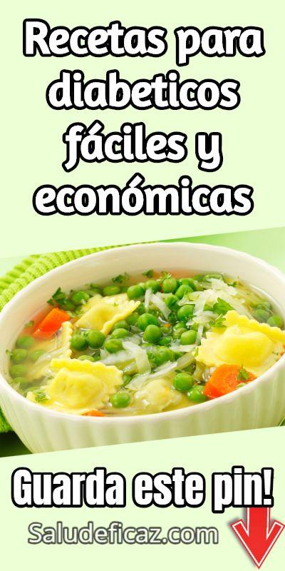 recetas de comida para diabeticos faciles y economicas