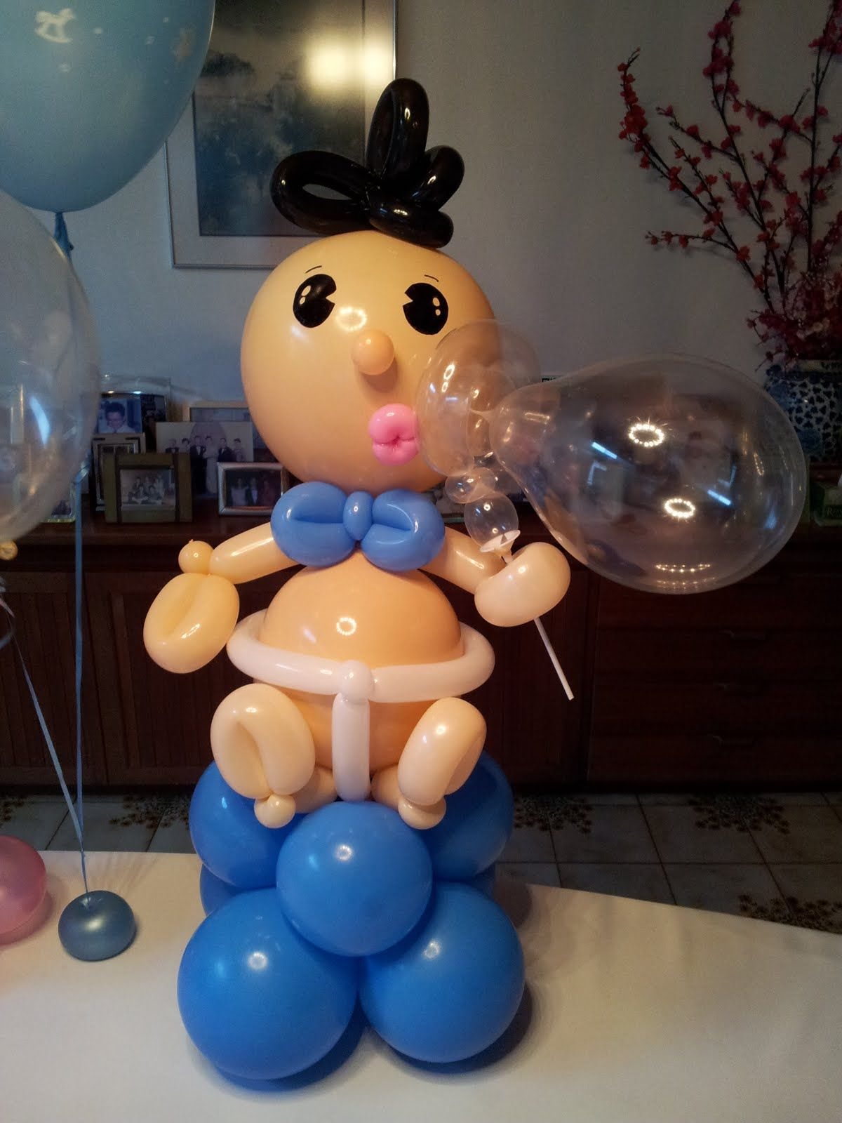 baby shower decorations for boy balloon sculpture ...
