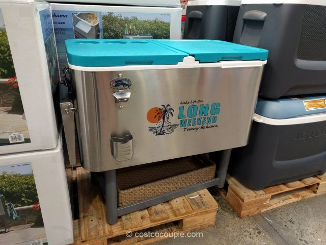 tommy bahama stainless steel rolling