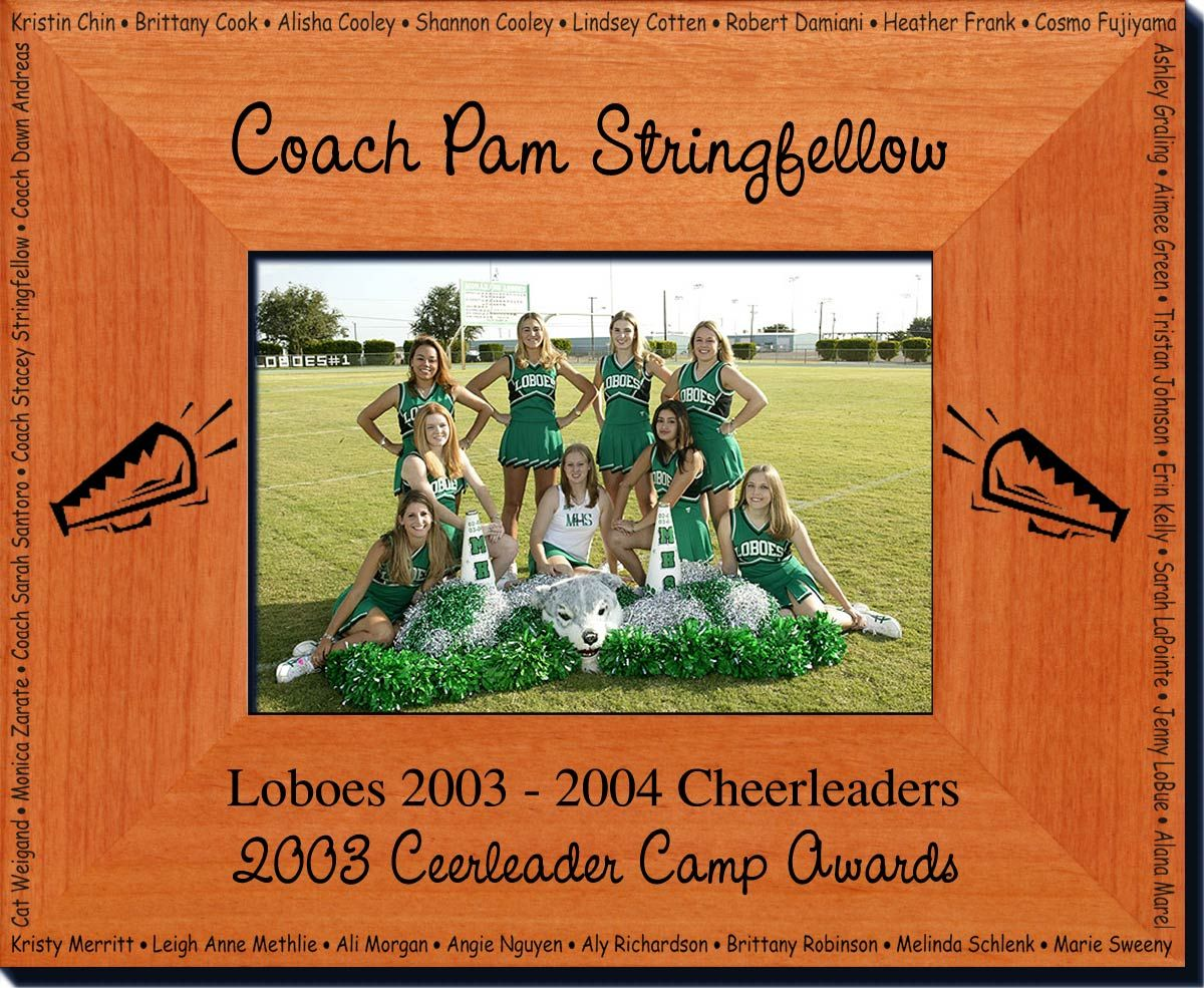 Personalized Cheerleader Frame - Great Father\'s Day Gift Idea ...