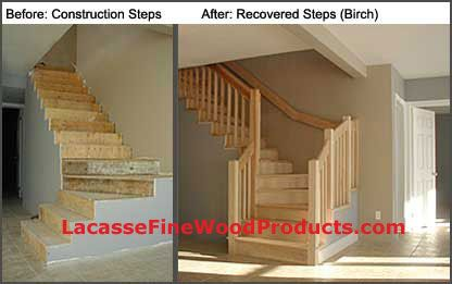 Best Recovering A Construction Set Of Stairs With Solid Wood 400 x 300