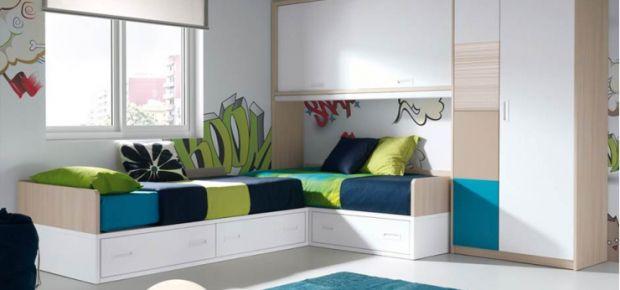 habitaciones infantiles dos camas - Buscar con Google | Habitacion ...