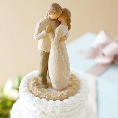 2011 Willow Tree Figure Promise Wedding Cake Topper For