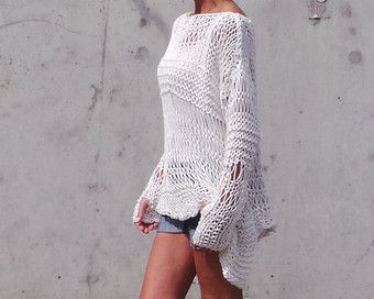 Poncho Pattern Easy Knitting Pattern coverup knit poncho | Tejidos ...