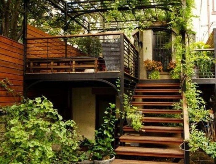 L\'escalier extérieur en 57 photos qui vous feront rêver | Jardin ...